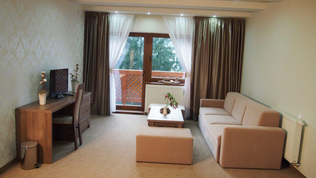 Ubytovanie v penzióne - Apartmán - oddychová časť