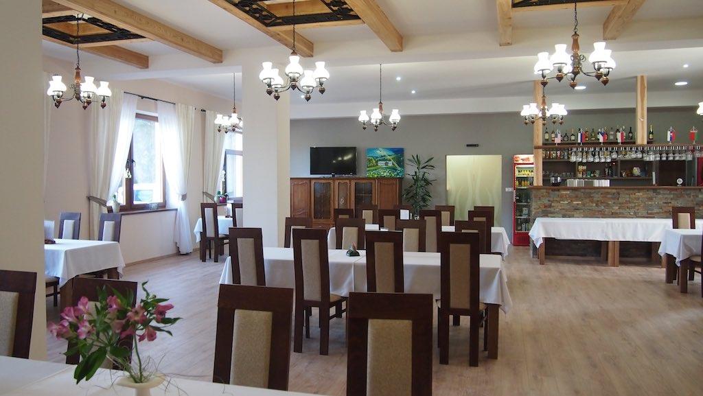 Reštaurácia penziónu Zlatný Potok